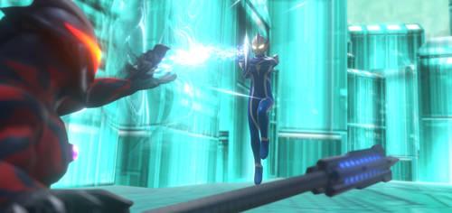 Ultraman Hikari vs Ultraman Belial by Percepter225