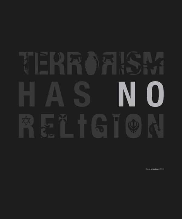 Terrorism has no religion by no-preview