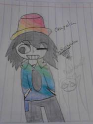 crayolita human by sonmoka