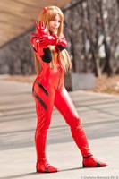 Asuka Langley cosplay by HeavenAndSky
