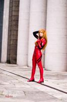 Asuka Cosplay by HeavenAndSky
