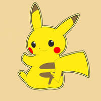 pikachu by gowlloe