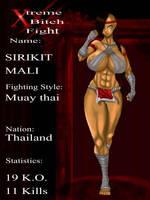 Xtreme bitch fight: Sirikit Mali by EMET6demente