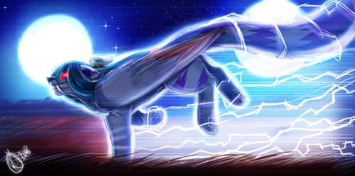 Speed of Light Redrawn by Umeko