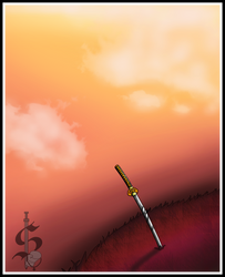 the sword on the hill by tigrisssilvery