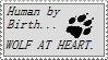Wolf at Heart Stamp by Aura-BleedingHeart