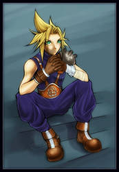 Cloud Strife by sererena