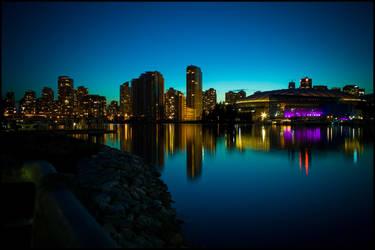Vancouver Skyline by mark1624