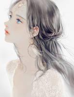 Sapphire eyes by DADACHYO