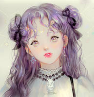 Chiffon girl by DADACHYO