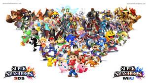 Super Smash Bros Wii U / 3DS Wallpaper by seancantrell