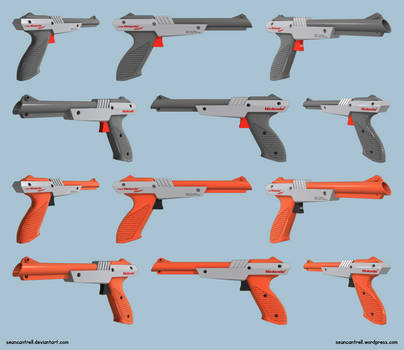 NES Zapper Surfaced by seancantrell