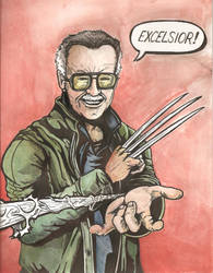 Stan Lee Excelsior by Daniel-Jeffries