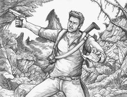 Nathan Drake - Uncharted 4 by Daniel-Jeffries