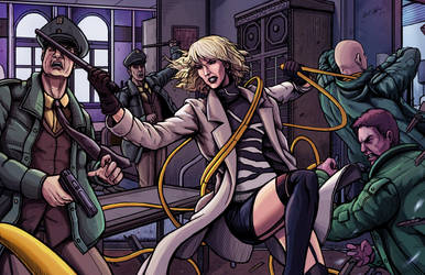 Atomic Blonde by Daniel-Jeffries