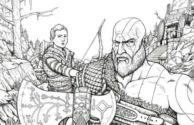 God of War by Daniel-Jeffries
