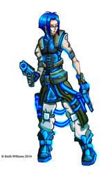 Future Soldier Concept - OC by DeadArts