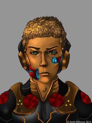 Sci fi Character - OC by DeadArts