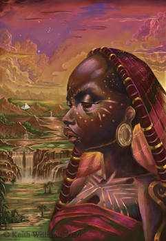 Mother of Nubia by DeadArts
