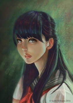 Portrait Study 5 by DeadArts