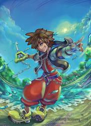 Sora Cyclone by DeadArts