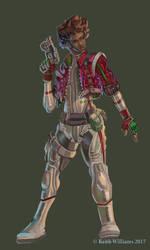 Space Soldier Design by DeadArts