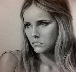 Isabel Lucas by kk-art