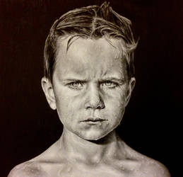 a boy by kk-art