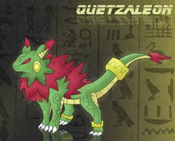 Quetzaleon:Eevee's Dragon Evo by DarkLatios777