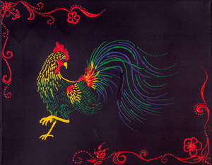 2017 Year of the Rooster by MidnightTiger8140
