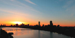 Sunrise over the Charles by MidnightTiger8140