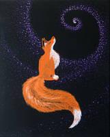 Cosmic Fox by MidnightTiger8140