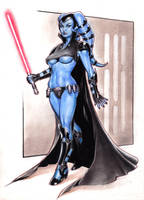 Aayla Secura is BAD by Reverie-drawingly