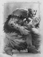 Etrigan the Demon by Reverie-drawingly