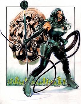 Viper aka Madame Hydra by Reverie-drawingly