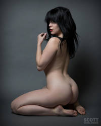 Nicole Vaunt -Straight out of a Frazetta painting by Scottworldwide