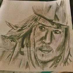 Jack Sparrow Slices Through the Air by Sel-Diora