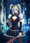 Harley Quinn  Batman Arkham Knight by CarlosVasseur