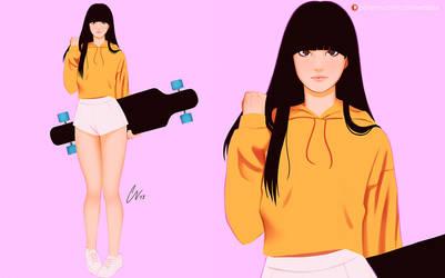 Hitomi Skater by CarlosVasseur