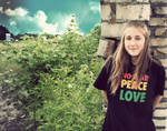 No war. Peace, Love by Madziuch