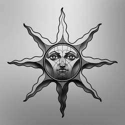 Personal Heirs of the Sun variant for tattoo by SethNemo