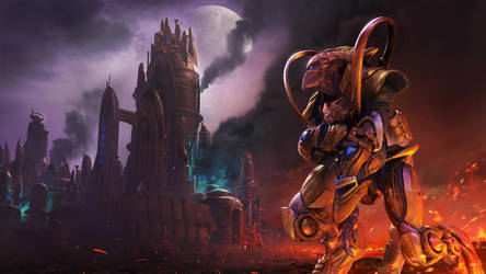 Protoss Lose Starcraft 1 Remastered 4k Wallpaper by deviantfoxfury