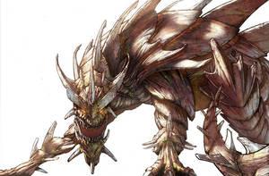 dragon by knotlikeyou2