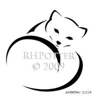 Arctic Fox by RHPotter