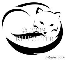 Arctic Fox II by RHPotter