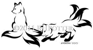 Kitsune Kits by RHPotter