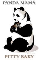 Panda Mama, Pitty Baby by RHPotter