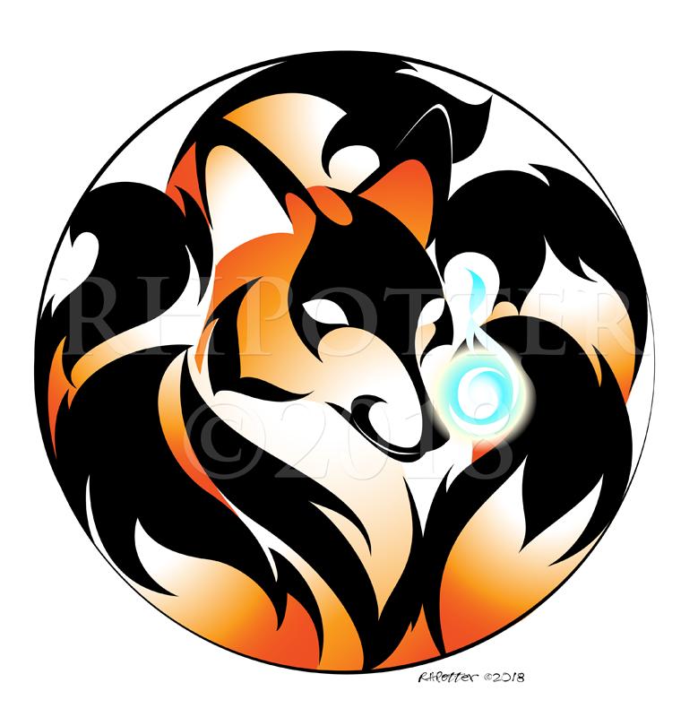 Kitsune Mon 4 by RHPotter