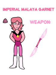 Imperial Malaya Garnet by Plumcicle