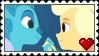 Mune And Glim Stamp by sararadisavljevic